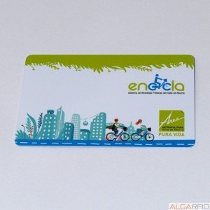 NTAG203 86 x 54mm PVC cards