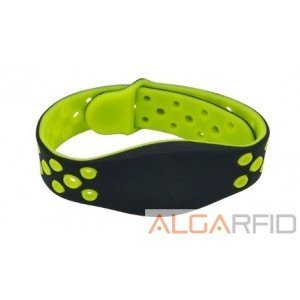 Adjustable silicone bracelettes